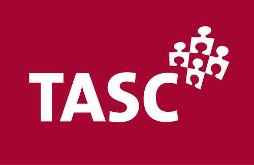 TASC White out of red