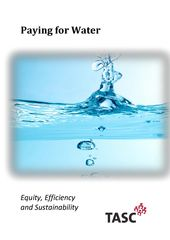Publication cover - TASC Paying for Water(2)