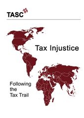 Publication cover - TASC Tax Injustice