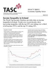 Publication cover - TASC Inequality Ireland brief