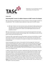 Publication cover - TASC Response to IBEC Tax Analysis